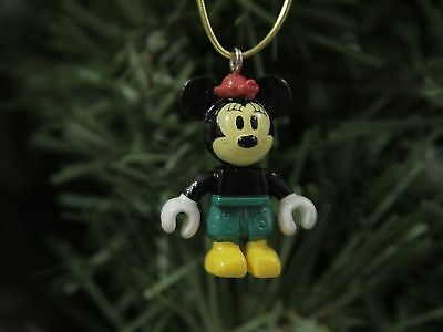 "Minnie, 'Block-Style' MICRO 1""  Disney Christmas Ornament"