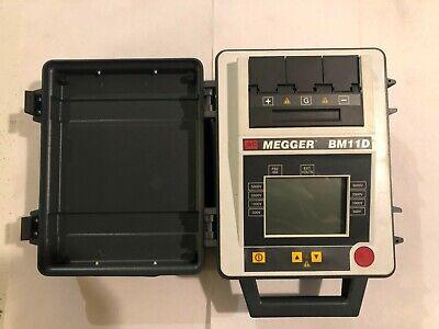 Avo Megger Bm11d 5kv Insulation Resistance Tester