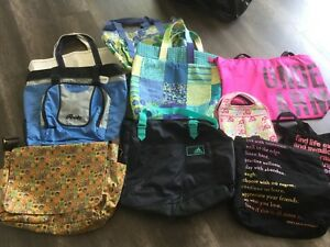 Assorted toe /gym bags