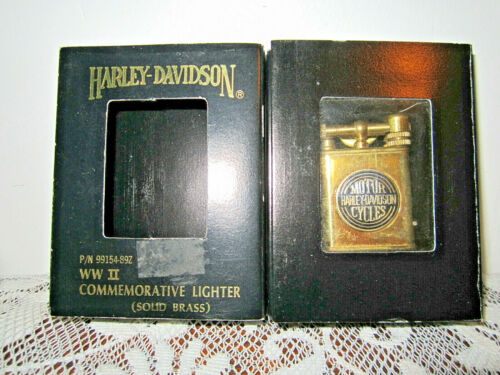 Harley Davidson WW2 Commemorative Lighter / a trench art replica by Harley