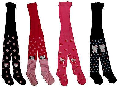 Strumpfhose Hello Kitty rosa braun blau pink 92 98 104 110 116 122 128 134 NEU