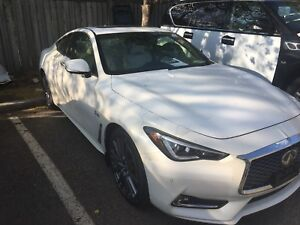 2017 Infinity Q60 S red sport