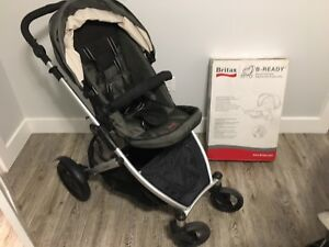 Britax B-Ready Stroller with with B-ready 2nd child seat