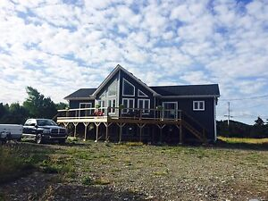 Oceanfront A-Frame House for Sale