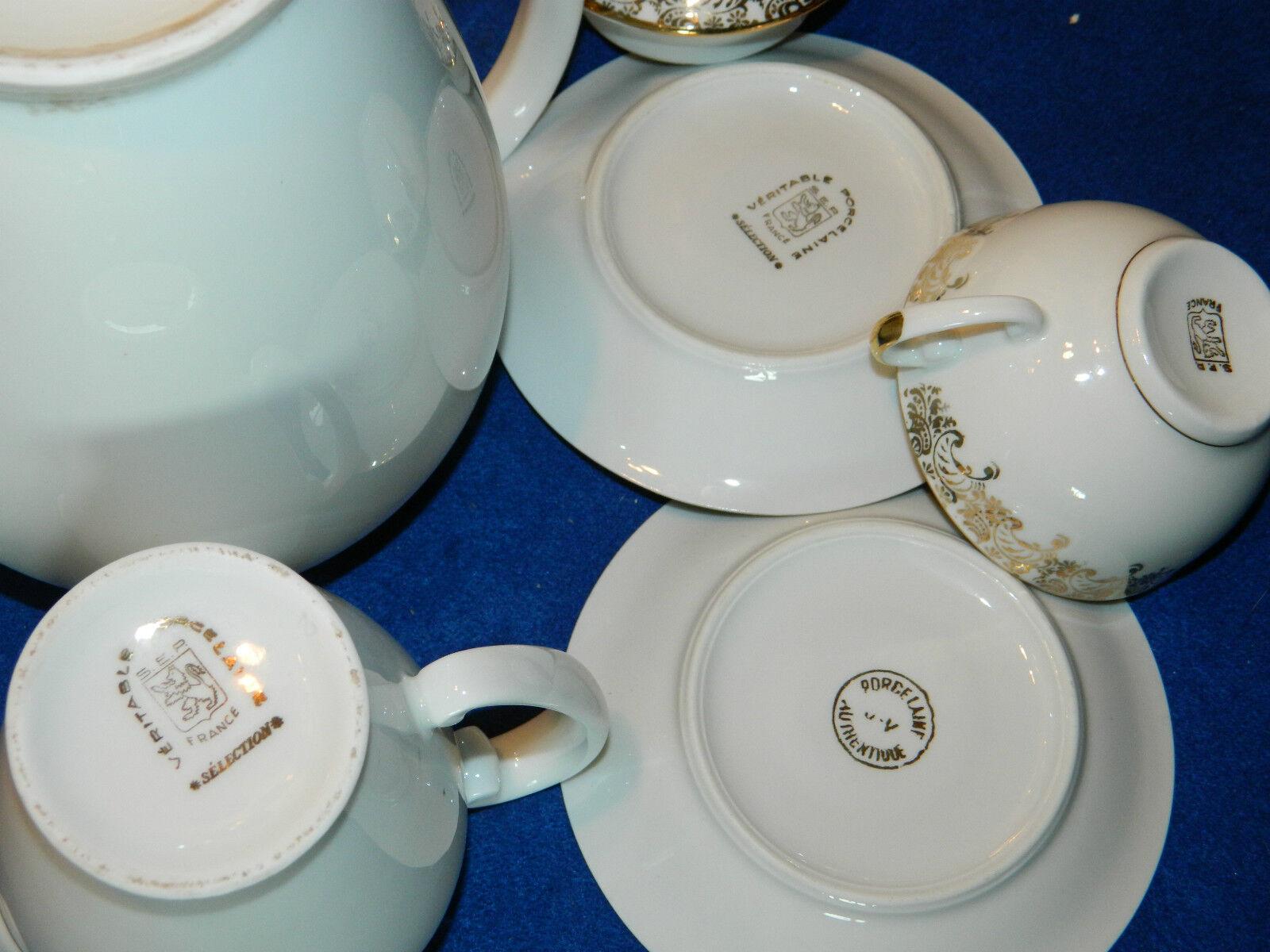 cafetiere tasse caf cruche pot v ritable porcelaine s e r ser vintage th i re eur 39 99. Black Bedroom Furniture Sets. Home Design Ideas