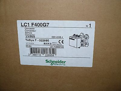 Schneider Electric Lc1f400-g7 Contactor 575 Vac 400 Amp 120v Coil New In Box