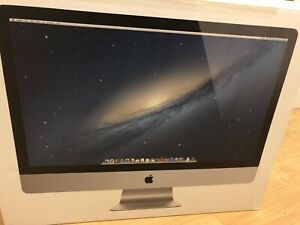 27 inch Imac (upgraded memory)