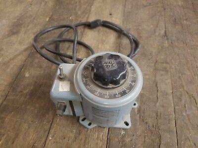 Powerstat Variable Autotransformer 3pn116b Potentiometer 1 Ph