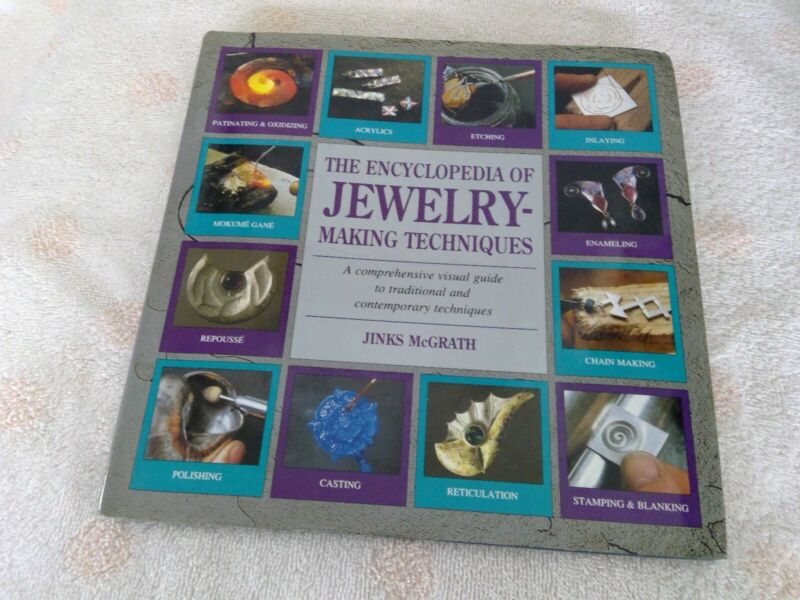 """""""THE ENCYCLOPEDIA OF JEWELRY-MAKING TECHNIQUES"""""""