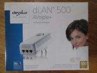 Devolo dLAN 500 AVtriple+ / Powerline Adapter Nordrhein-Westfalen - Leverkusen Vorschau