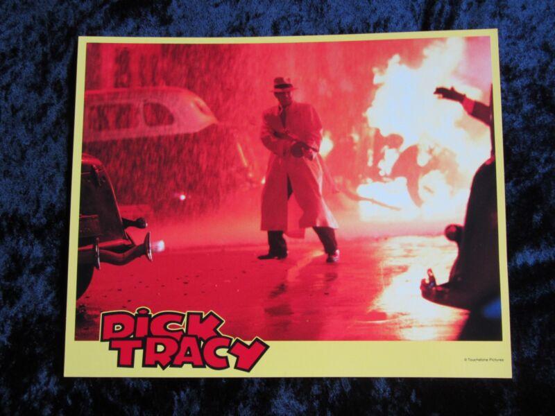 DICK TRACY lobby card # 7 WARREN BEATTY mini lobby card