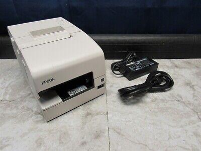 Epson Tm-h6000iv Point Of Sale Usb Receipt Printer Pos M253a W Pwr Supply