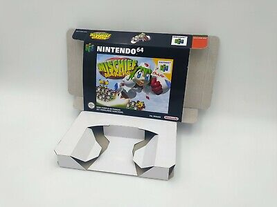 Mischief Makers - reproduction box with insert - N64 - Pal REGION. HQ !!