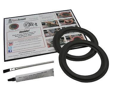 Infinity SM-62 Altavoz Partes 16.5cm Woofer Espuma Edge Reparación Kit FSK-6.5