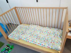 IKEA Gulliver Cot and matress in very good condition