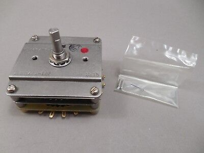 Electroswitch M378615-0532 Shallcross 4e50a24-1gf Rotary Switch 0.5a 28vdc