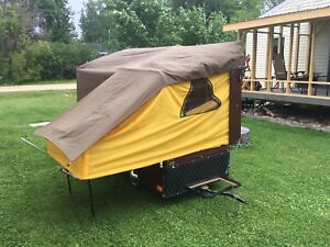 Small tent trailer, motorcycle or small car