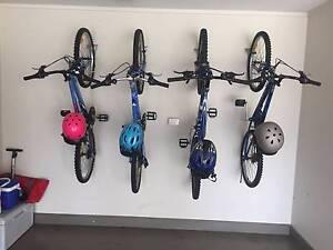 FAMILY BICYCLE PACKAGE + HELMET/WALL RACKS!!! Woolooware Sutherland Area Preview