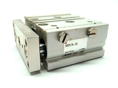 Smc Mgpl16-20 Compact Guided Cylinder