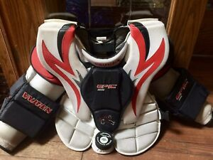 Vaughn 8606 Epic Goalie Chest & Arm Protectors - SENIOR MEDIUM