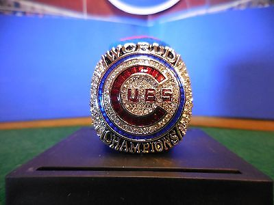 2016 Chicago Cubs World Series Championship Ring  Size 8 13  U S  Seller
