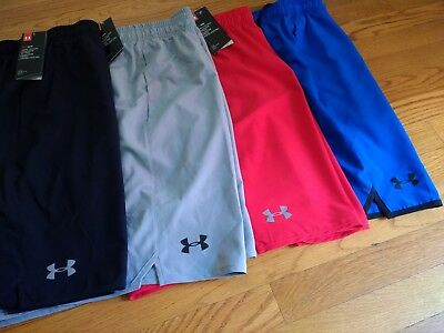 NWT, Mens Under Armour Qualifier Woven Shorts 9