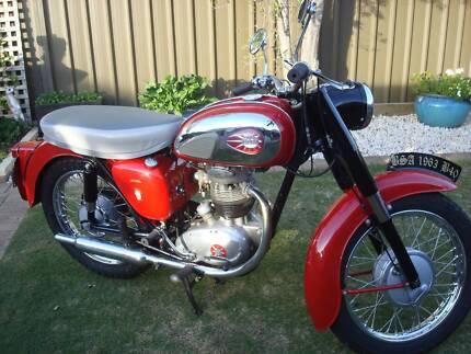 BSA 1963 350cc B 40