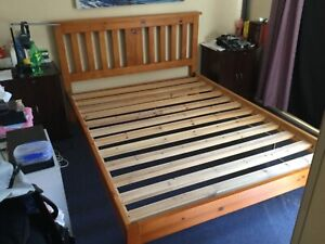 A queen bed base for sale and want it sell ASAP