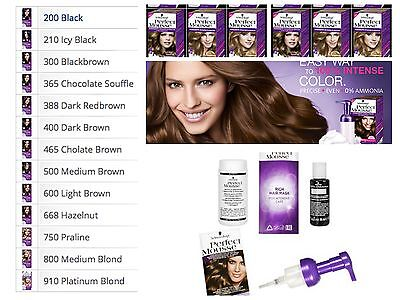- Schwarzkopf Perfect Mousse INTENSE COLOR Ammonia-Free FAST DELIVERY