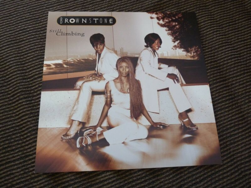 Brownstone Still Climbing LP Poster Photo Double Sided Flat 12x12 RARE #2