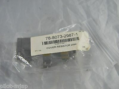 New 3m Series 9000 Overhead Projector 20w Resistor Cover Part 78-8073-2987-1