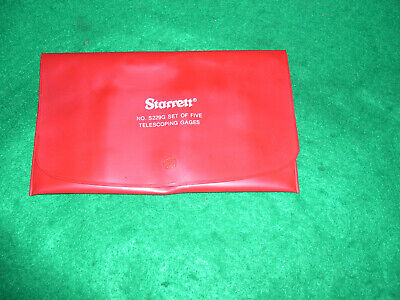 Starrett S229gz Telescoping Gage Set 12 To 6