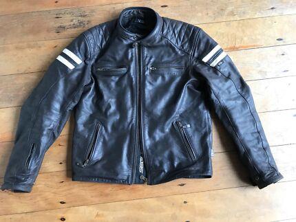 Deus Leather Motorcycle Jacket