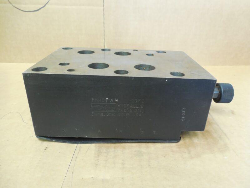 Parker Pressure Relief Valve PRM6PAH-21FZ  PRM6PAH21FZ New
