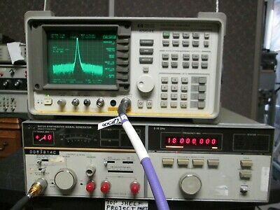 Synthesized Signal Generator Hp 8672a Working 2 Ghz To 18 Ghz -110 To 10 Dbm