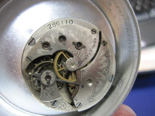 6s Columbus HC pocket watch movement