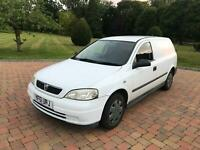 2002 VAUXHALL ASTRA VAN 1.7DTi 16v 3 OWNERS REAR SEAT CONVERSION DRIVES WELL