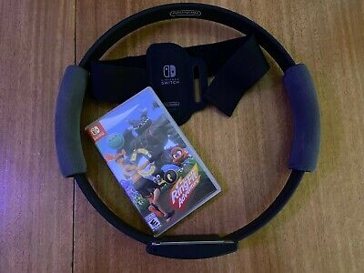 Ring Fit Adventure - Standard Edition (Nintendo Switch, 2019) - Fast Shipping