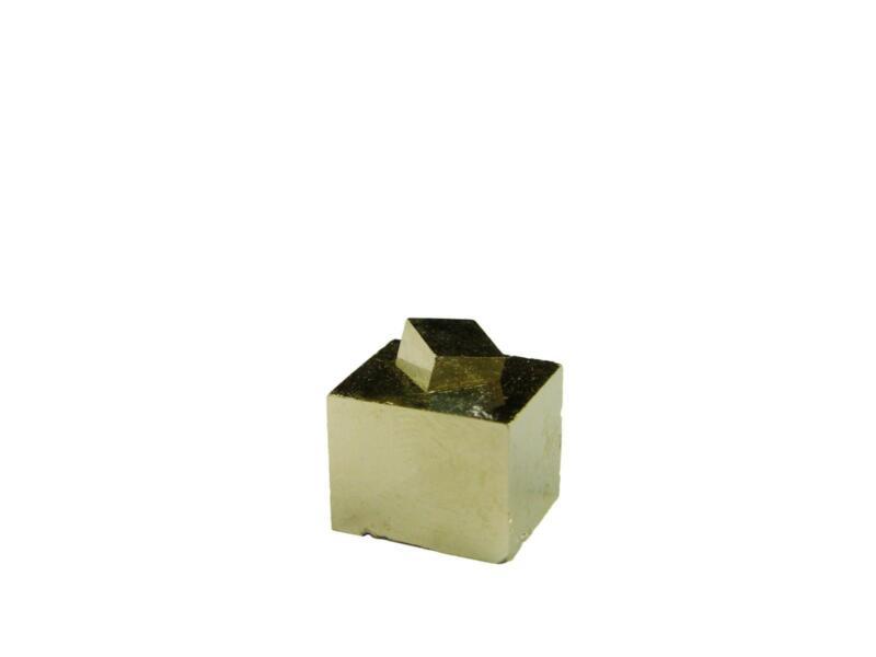 Navajun Spain Mine - Pyrite Cube Crystal With Display Case-#PC21