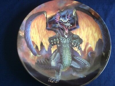 "Danbury Mint The Dragons Of Enchantica ""The Volcano Dragon "" (small scratches)"