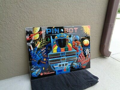 Williams PINBOT Pinball Machine Backglass, NEW!!!