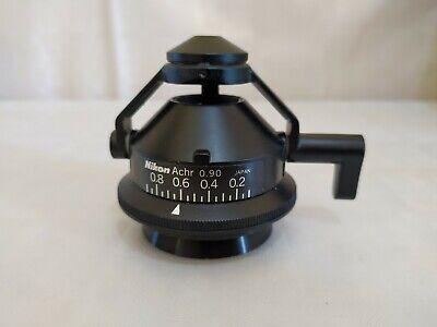 Nikon Achr 0.90 Microscope Condenser Japan