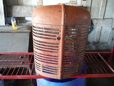 Ih Farmall H And Early Super H Tractor Grill Prefect No Dents Or Bent Bars