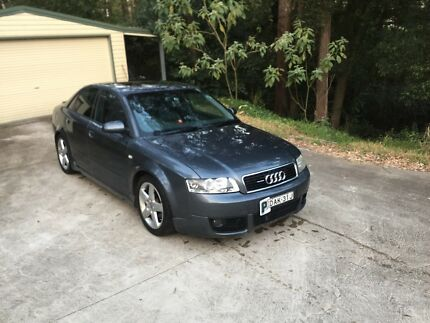 Wrecking 2002 Audi A4 1.8L turbo Rouse Hill The Hills District Preview