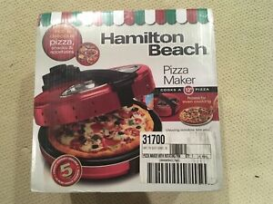 New Hamilton Beach Pizza Maker