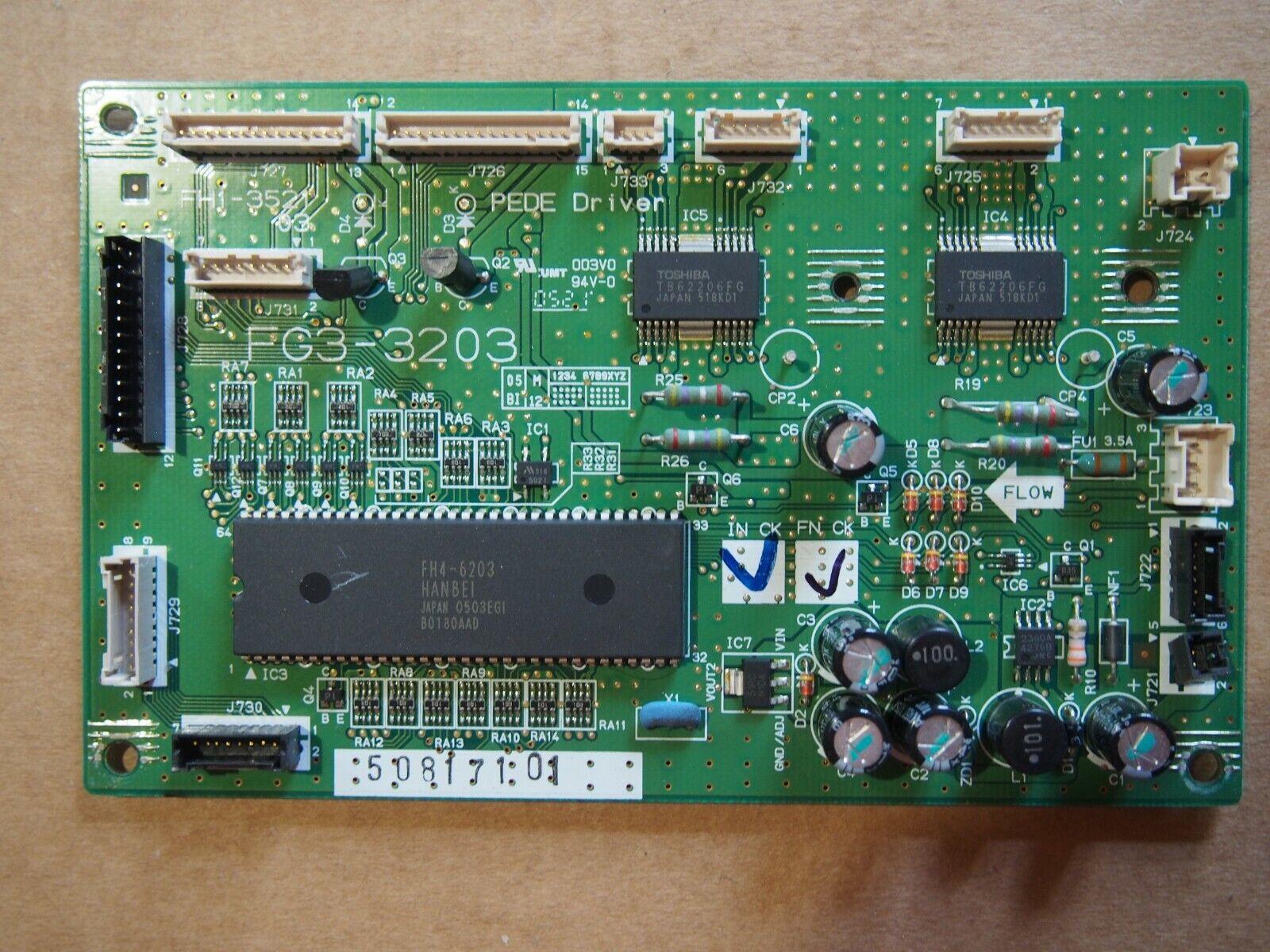 Carte CANON FG3 3203 FH1 3521 03