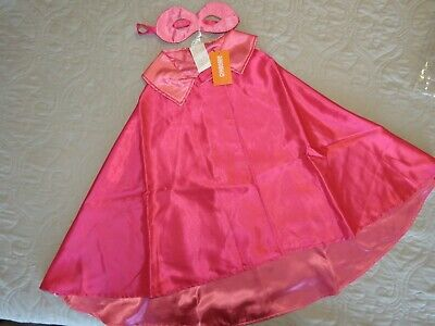 NWT Gymboree Costume Shop Superhero Girl - pink - size XS/S 4-6 - Halloween (Halloween Costumes 2014)