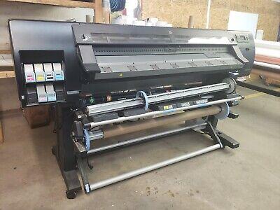 Nice Hp Designjet Latex Printer L26500 60 Wide Format 260