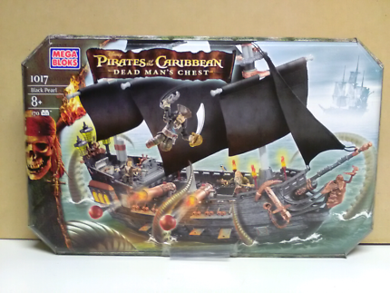 Mega Bloks Pirates of the Caribbean Black Pearl 1017