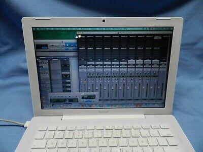 """13.3"""" Macbook A1181 STUDIO MAVERICK + PROTOOLS + WAVES +Mid 2009 - Core 2 READ"""